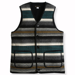 MEXICAN OUTLAW RUG VEST